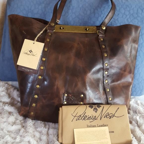a12a45328 Patricia Nash Bags | Distressed Leather Benvenuto | Poshmark